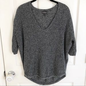 Express slouchy knit top